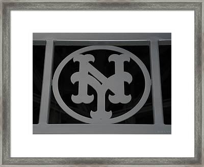 N Y Framed Print