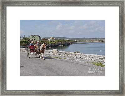 Na Hiostain Inis Mor Framed Print by Danielle Summa