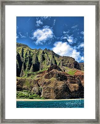 Na Pali Coast 1 Framed Print by Baywest Imaging