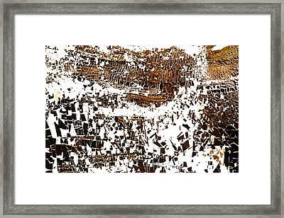 Na Two Framed Print by Kika Pierides