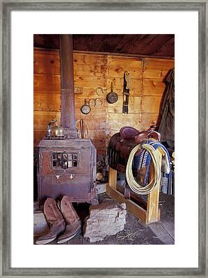 Na, Usa, Oregon, Seneca, Ponderosa Framed Print