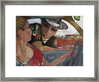 Na070 Framed Print