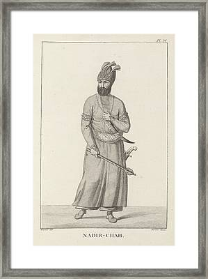 Nadir-chah Framed Print by British Library