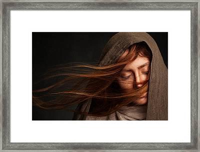 Nafas Framed Print