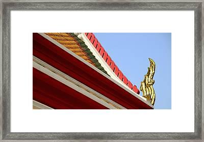 Naga Roof Framed Print