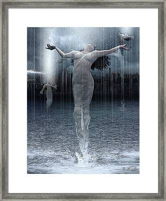 Naiads Water Nymph Framed Print
