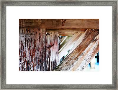 Nailed It Framed Print