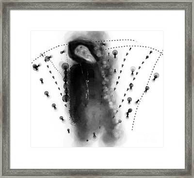 Nailed Framed Print by Rc Rcd