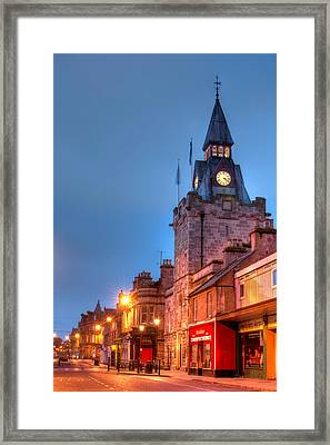 Nairn High Street Framed Print