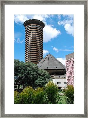 Nairobi Kenya Skyline Framed Print by Robert Ford