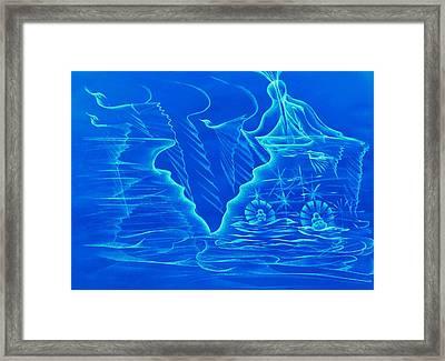 Naissance Gemellaire Framed Print