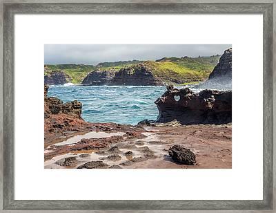 Nakalele Landscape Maui Framed Print