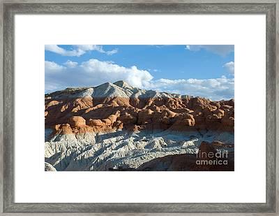 Naked Mountain Framed Print