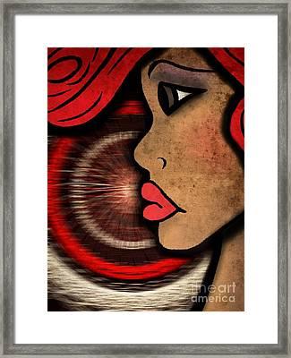 Nala Badu Framed Print