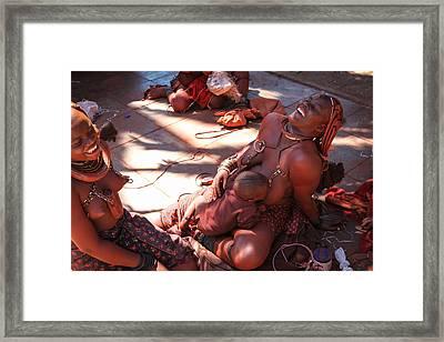Nama Natives Framed Print