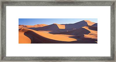 Namib Desert, Nambia, Africa Framed Print by Panoramic Images