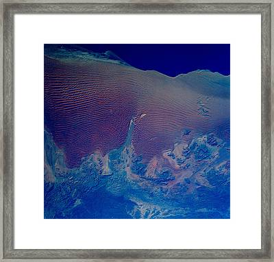 Namib Desert Skeleton Coast Of Southwest Africa Framed Print by Anonymous