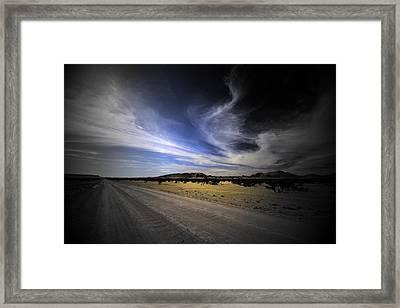 Namibia Landscape Framed Print by Riana Van Staden