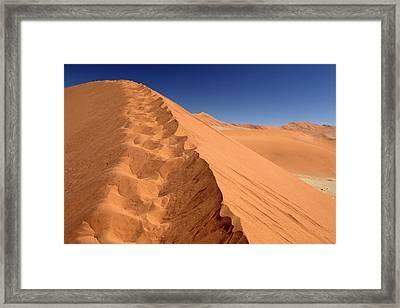Namibia, Sossusvlei Framed Print by Kymri Wilt