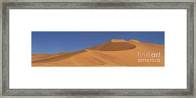 Namibian Desert Framed Print by Richard Garvey-Williams