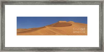 Namibian Desert Framed Print