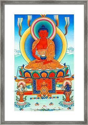 Namo Amitabha Buddha 35 Framed Print