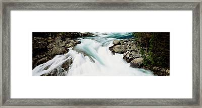 Namsen River Norway Framed Print