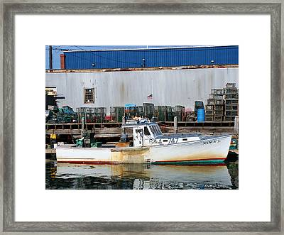Framed Print featuring the photograph Nancy J by Dick Botkin