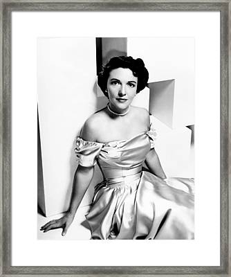 Nancy Reagan, Aka Nancy Davis, Ca Framed Print