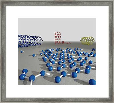 Nanotechnology Framed Print by Robert Brook