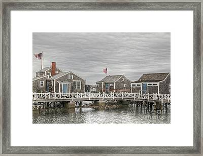 Nantucket Days Framed Print