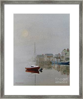 Nantucket Fog Framed Print