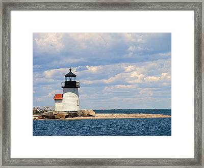 Nantucket Harbor Framed Print by James McAdams