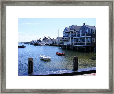 Nantucket Harbors Framed Print by James McAdams