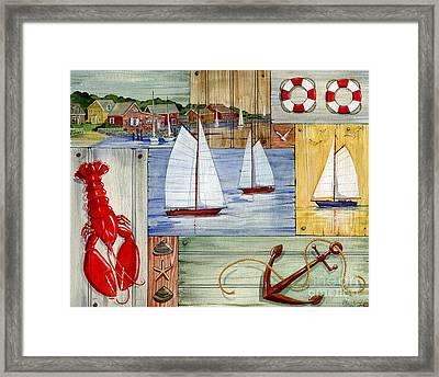 Nantucket I Framed Print