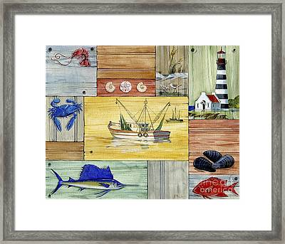 Nantucket IIi Framed Print by Paul Brent