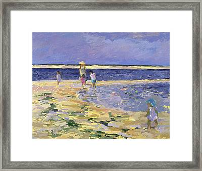 Nantucket  Framed Print by Sarah Butterfield