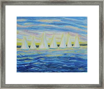 Nantucket Sunrise Framed Print