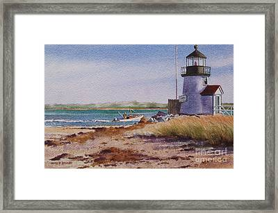 Nantucket Winter Light Framed Print