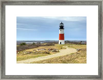 Nantucket's Sankaty Head Light Framed Print