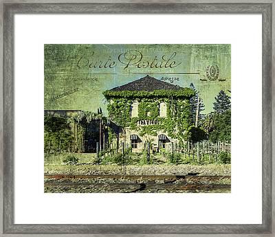 Napa Impressions Framed Print