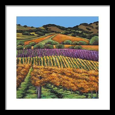 Vino Framed Prints