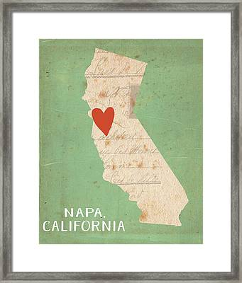 Napa Framed Print by Katie Doucette