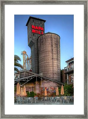 Napa Mill II Framed Print by Bill Gallagher