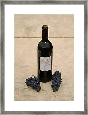 Napa Still Life Framed Print by Paul Tagliamonte
