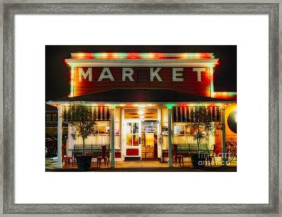 Napa Valley Nostalgia II Framed Print by George Oze