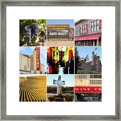 Napa Valley Wine Country 20140905 Framed Print