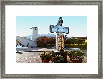 Napa Valley Winery . 7d9046 Framed Print by Wingsdomain Art and Photography