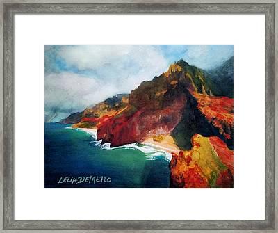 Napali No. 2 Framed Print