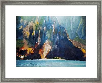 Napali No. 4 Framed Print
